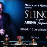 Anuncian operativos especiales por concierto de Sting tras amenaza de boicot