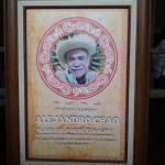 Homenaje al catedrático Chao Barona en Zacualpan de Amilpas