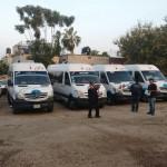 Retienen cinco Rutas del Estado de México brindando servicio ilegal en Cuautla