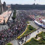 Andrés Manuel: Me voy si protestan 100 mil… y caigo en las encuestas