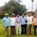 ¿Quién está atrás de Pedro Herrera Trinidad?